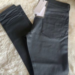 Brand new with All tags never worn raw black denim